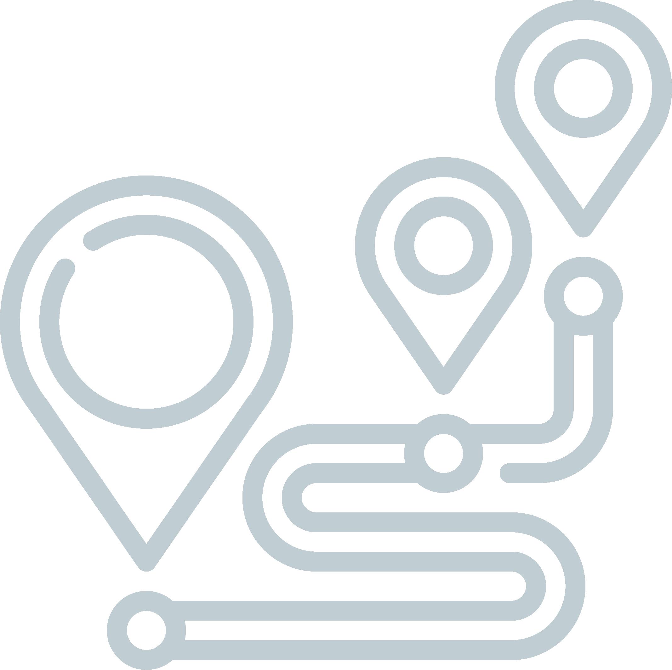 Organización de rutas de entrega